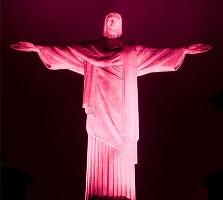 Estatua do Cristo Redentor Rio de Janeiro-RJ - Outubro/2008